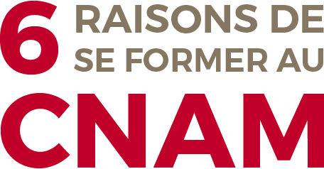 6 (six) raisons de se former au Cnam